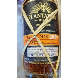 Plantation Barbados Borderies 2007 XO 58,5%