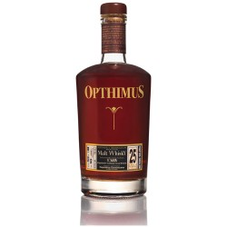 Opthimus Malt Whisky Finish 25 år 43% 70cl, Dominikanske Republik