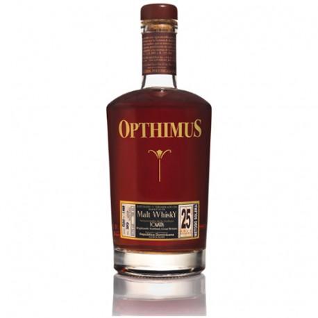 Opthimus Malt Whisky Finish 25 år 43% 70cl, Dominikanske Republik