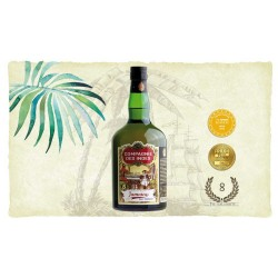 "Compagnie des Indes Jamaica Rum 57% ""Navy Strength"""