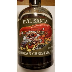 """EVIL SANTA"" Caribbean Christmas Rum 60,4%"