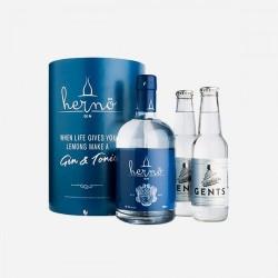 Hernö Gin + 2 tonic i gaveæske