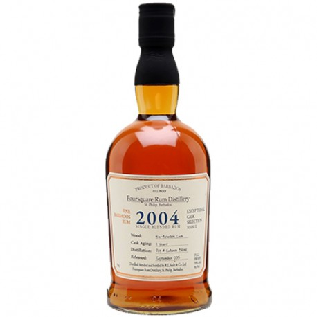 Foursquare vintage 2004 Cask Selection Rum Barbados 59%