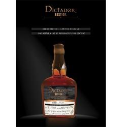 Dictador Rum The best of 1984 41,60%
