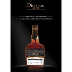 Dictador Rum The best of 1981 43,10%