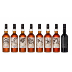Game Of Thrones, Whisky Collection. 8 flasker forsalg