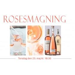 Rosésmagning Torsdag den 23. maj kl. 18.30