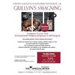 Grill-Vinsmagning 13. juni kl. 18.30