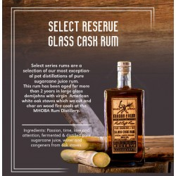 Mhoba Select Reserve Glass Cask rum