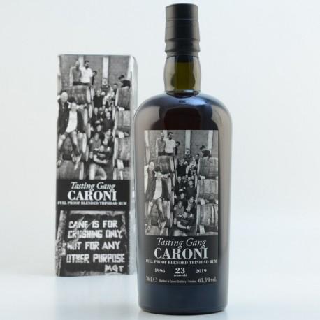 CARONI GUYANA 23 ans 1996 Blend Tasting Gang 63,5%