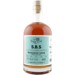 S.B.S BARBADOS 2009 Marsala finish 52% Foursquare