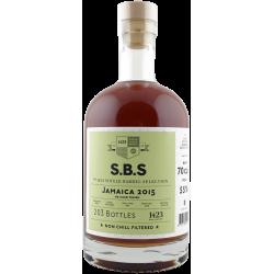 S.B.S JAMAICA 2015 px sherry cask 55%