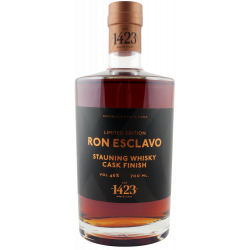 RON ESCLAVO XO STAUNING WHISKY CASK FINISH 46%