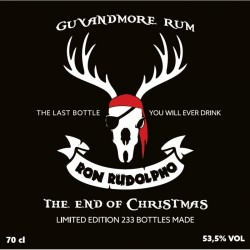 Ron Rudolpho Rum 53,5% The end of Christmas 70 cl