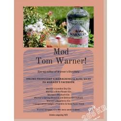 14/5 kl. 20.00 GIN-smagning fra WARNER's Distillery