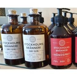 to fl Stockholm Økologisk Gin & en Stockholm Håndsprit