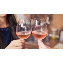 vinsmagning Rosé & Bobler