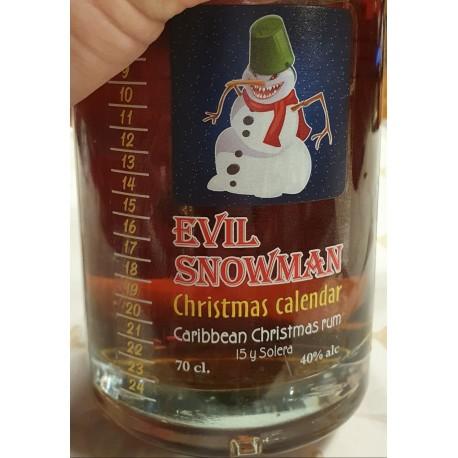 EVIL SNOWMAN christmas calendar 2020