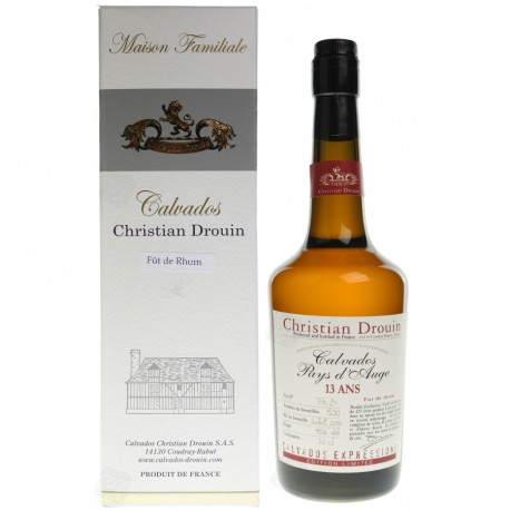 Calvados Christian Drouin Savanna Rhum finish 13 Y