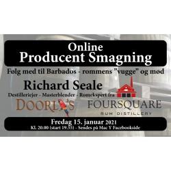 Foursquare online romsmagning med Richard Seale 15. januar kl. 20.00