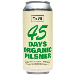 To Øl 45 Days Organic Pilsner 4,7%