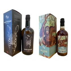 Wild Series rum no. 16 Martinique 60,7% & Collectors series Rum no. 3 Bellevue 55,5%