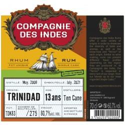 Compagnie des Indes CDI Ten Cane 13y 60,7%