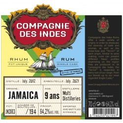 Companie des Indes CDI Jamaica 9 Y 64,2%